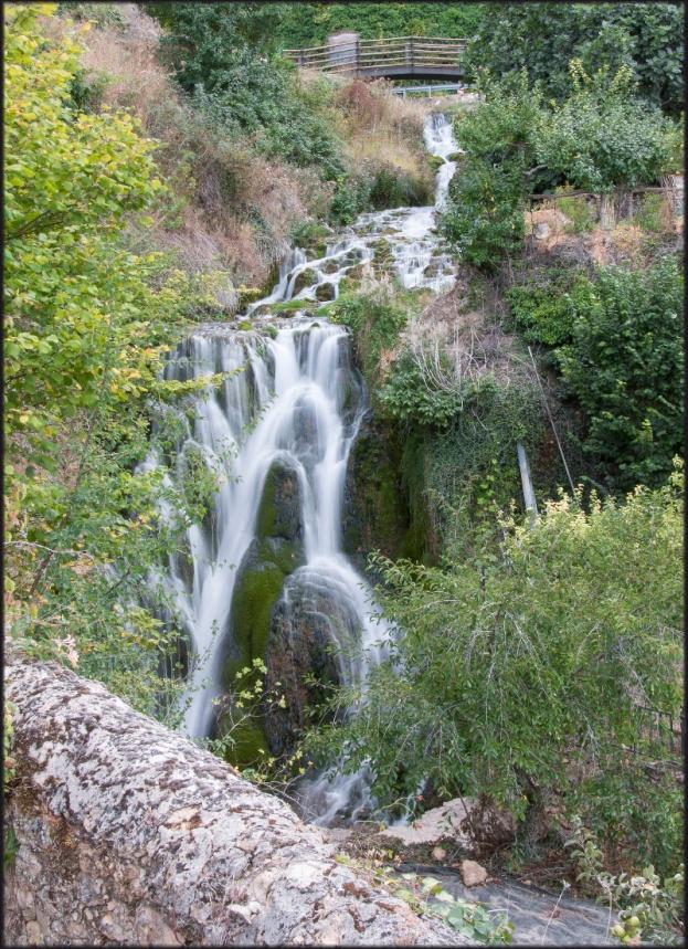 Tobera: Cascada del río Molinar