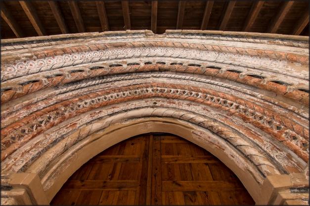 Puerta, entrada, iglesia, Castillejo de Robledo, Soria, Rally fotográfico Manuel Lafuente Caloto